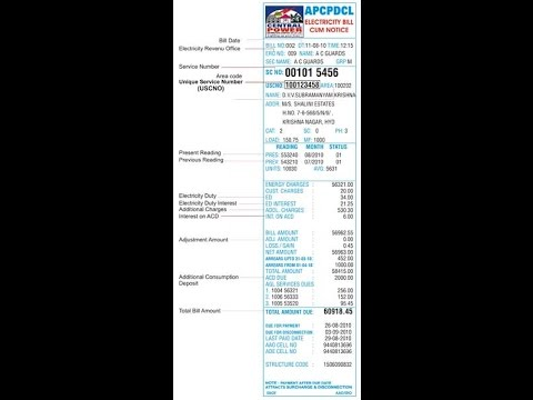 How To Download Electricity Bill Online