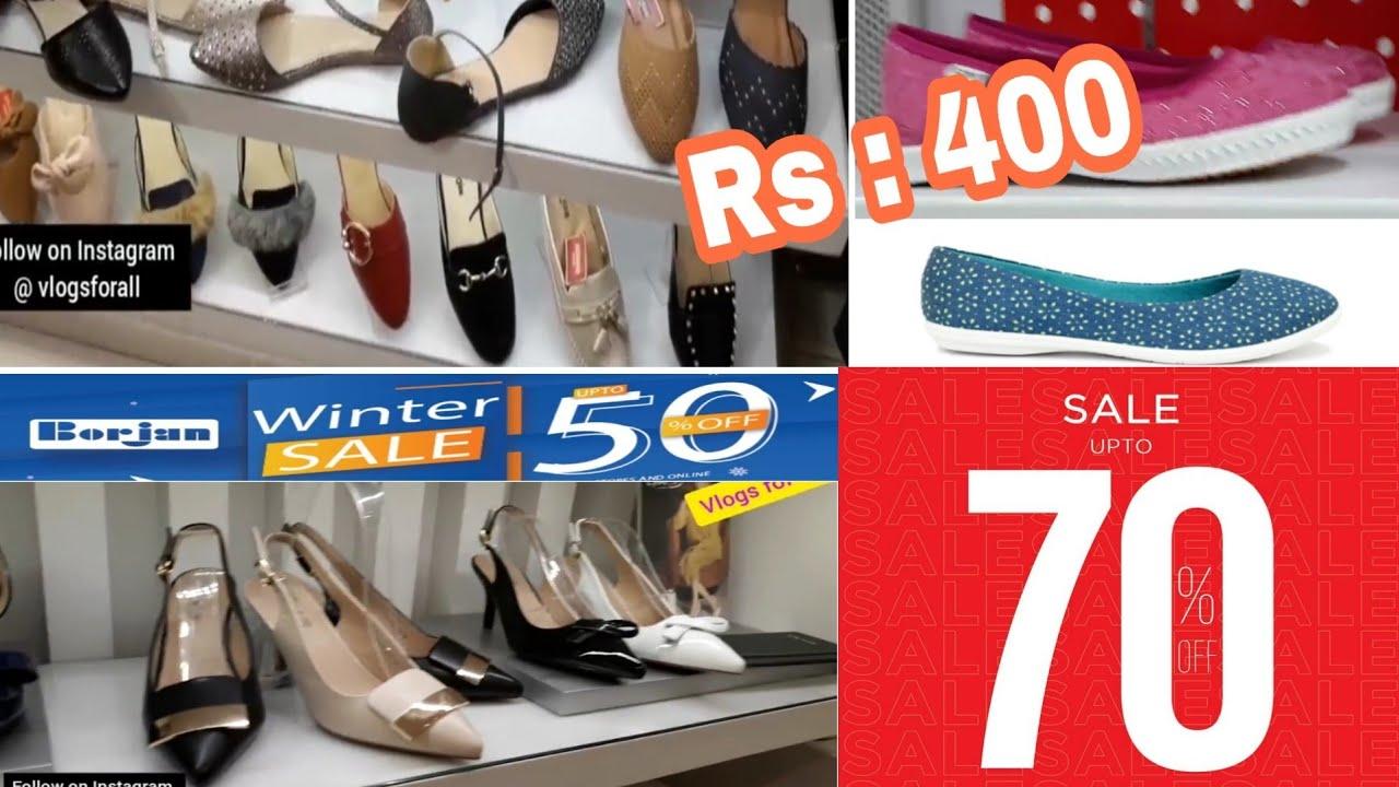 Borjan \u0026 Bata Shoes Sale 70% off 50