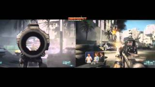Battlefield 3 PS3 vs PC: 720P HD Video Comparison