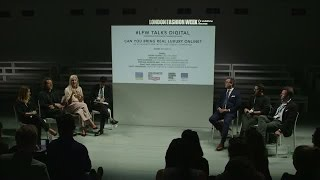 Can you bring real luxury online? Digital Talks from LFW SS15