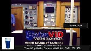 Cup Dvr V2 Hidden Camera Coat Hook Sample Video