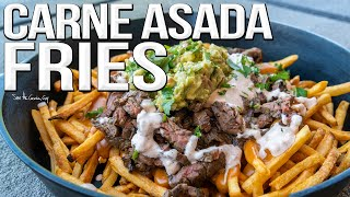 Carne Asada Fries Recipe | SAM THE COOKING GUY 4K