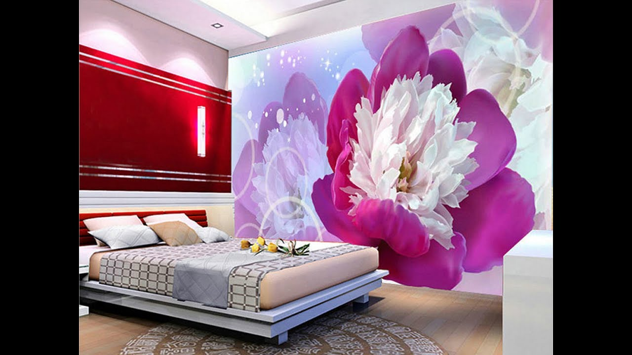 3d wallpaper for your dream home as royal decor youtube for Wallpaper on walls home decor furnishings