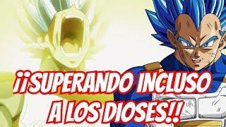 ¡¡Vegeta, Superando el Poder de los Dioses!! - Dragon Ball Super
