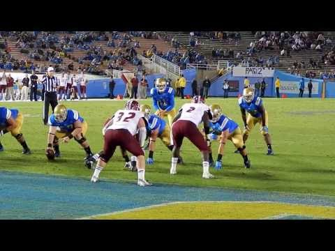 UCLA Bruins Football: Malcolm Jones Touchdown