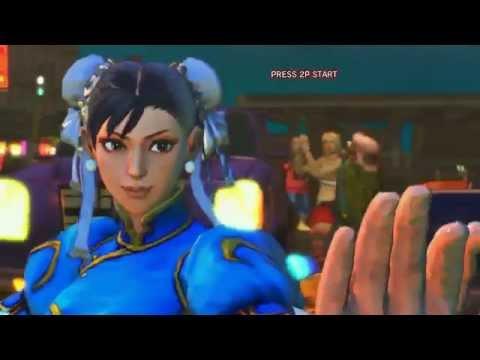 SSF4 Playthrough with Evil Ryu Boss Fight - Chun-Li