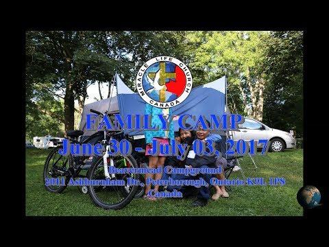 Peterborough, Beavermead Campground - Miracle Life Church Canada - Camp 2017 - 4K Ultra HD 2160p