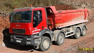 IVECO Trakker 8x8 dump truck - extreme loads