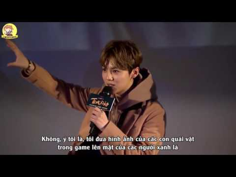 [VIETSUB] 161215 LuHan @ The Great Wall Sneak Preview in Beijing