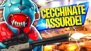 CECCHINATE ASSURDE E VITTORIA REALE CON THE NUOVA SKIN! Fortnite Battle Royale