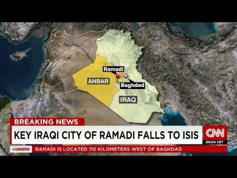 Terror group ISIS seizes control of Ramadi