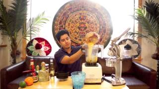 How To Make A Frosty Mexican Bull Dog Margarita