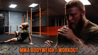 Use This MMA Bodyweight Workout For Fight Endurance Video