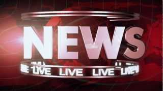 Breaking News Broadcast graphics with Opening, Transition, lower thirds: After Effects Template