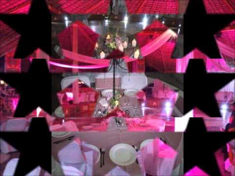 Centros de mesa para xv a os y o boda estrella moda youtube - Centros de mesa para boda economicos y elegantes ...