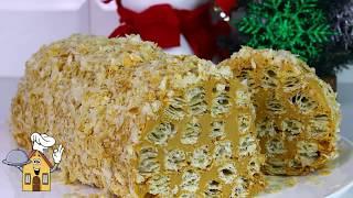 Торт из 3 ингредиентов лучше Наполеона/ Рецепт за 30 минут!Простой,быстрый и вкусный Торт!
