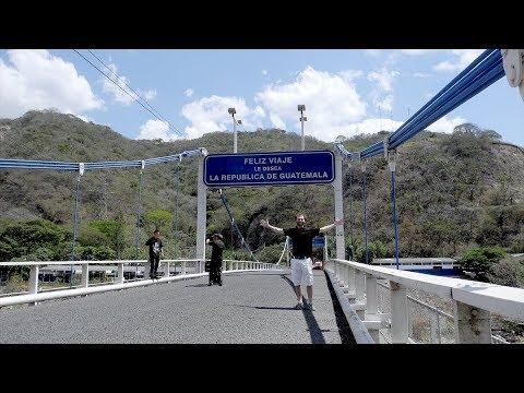 Border Crossing - Guatemala into El Salvador