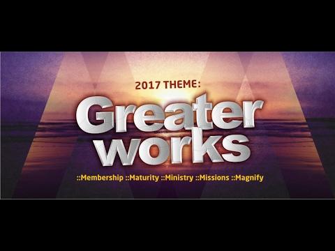 1st Qrt Seminar {Evening Session} Rev. Emma Osset :Topic:  Greater Works