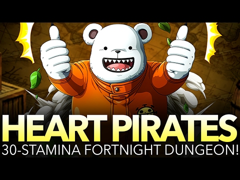 HEART PIRATES 30-STAMINA PLAYTHROUGH! (One Piece Treasure Cruise - Global)