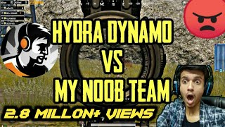 dynamo vs my random team | what an awesome gameplay by team hydra