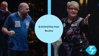 Ashton creates HISTORY! | BDO Champion claims tour card | PDC Q-School 2020 Day four review