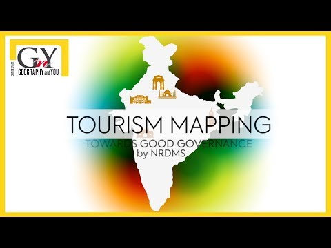 Geo-spatial applications for Tourism Mapping by NRDMS