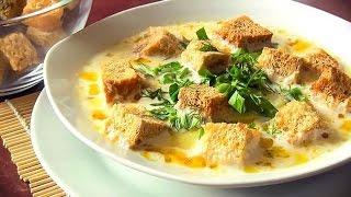 Сырный суп по-французски  рецепт с плавленным сыром