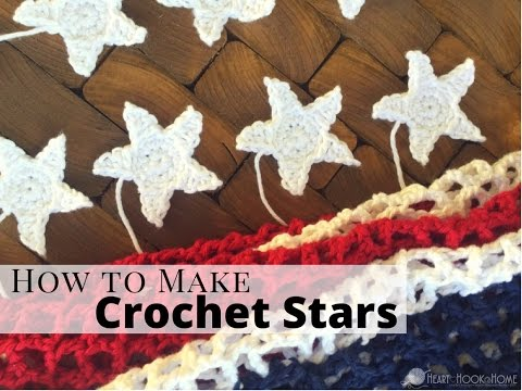 How To Make A Crocheted Star
