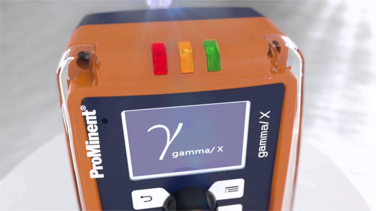 Pompe doseuse électromagnétique à membrane gamma/ X - ProMinent
