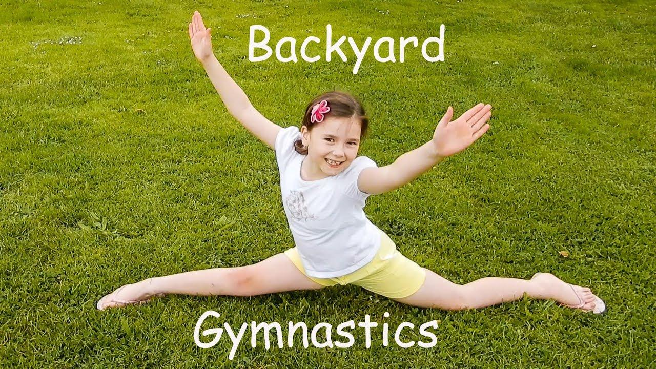 backyard gymnastics with tanisha youtube