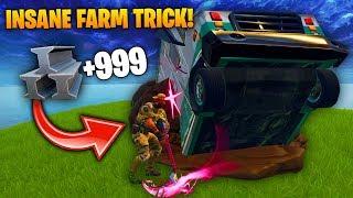 *NEW* INSANE FAST FARM Fortnite Funny Fails and WTF Moments! #11