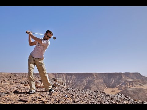 Golfing the Sahara Desert - Shane O goes to Egypt (ep 10)