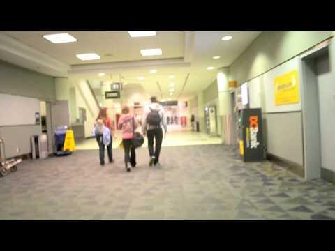 Inside Lester. B. Pearson International Airport in Toronto