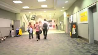 Inside Lester. B. Pearson International Airport in Toronto