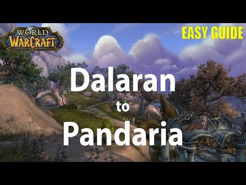 How To Get To Pandaria From Dalaran In Legion