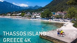Thassos island Greece 4K Full adventure