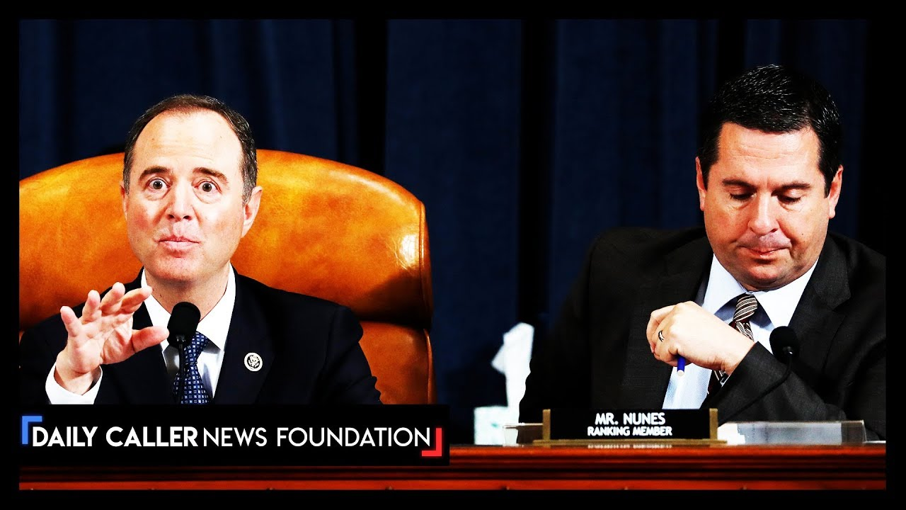"DC Shorts Schiff interupts Republicans to ""Protect the Whistleblower"""