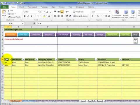 how to keep track of sales
