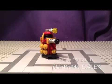 Lego Doctor Who How To Build 8: Dalek Supreme