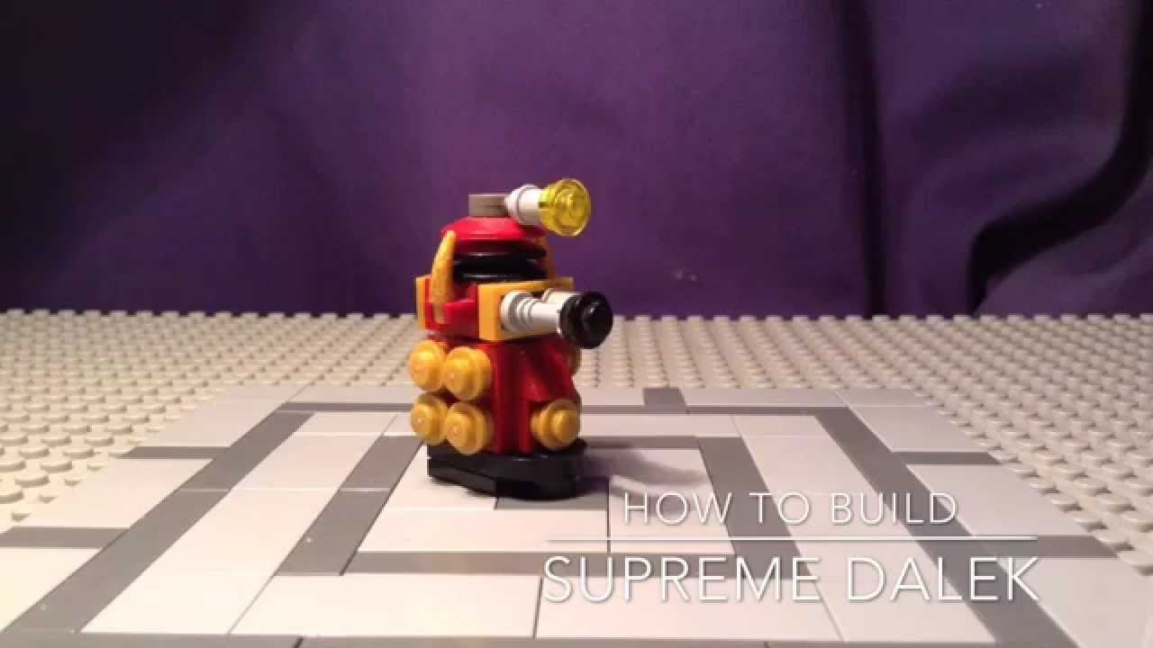 Build A Lego Dalek