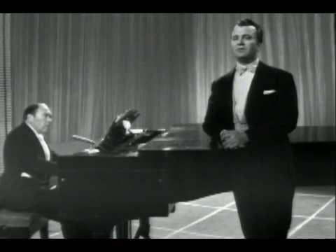 """Nicolai Gedda sings """"Nacht und Träume"""" by Schubert"""