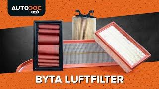 Hur byter man Luftfilter - videoguide