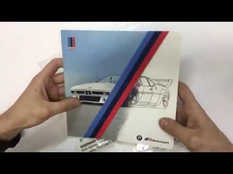 Обзор и распаковка 80282461140 Книжка-раскраска #BMW M ...