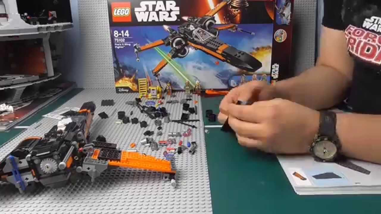 Lego star wars poe s x wing fighter review 75102 youtube - Lego Star Wars Let S Build 20x Poe S X Wing Fighter 75102