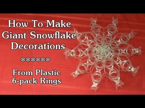 Pack Plastic Rings Crafts