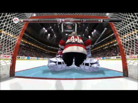 NHL 14 Shoot out Caps vs Sens