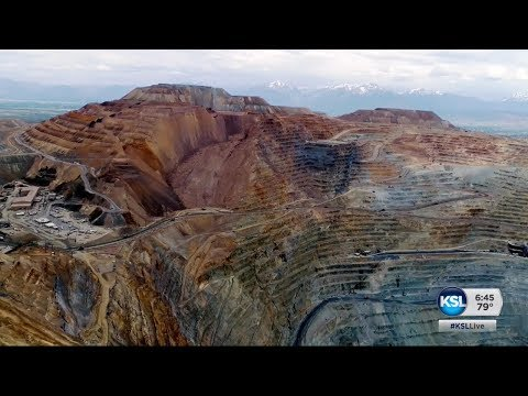 Things Get A Lot Safer For Workers At The Kennecott Copper Pit