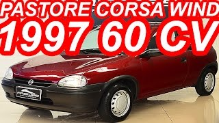 Pastore Chevrolet Corsa Wind 1997 aro 13 FWD MT5 1.0 MPFI 60 cv 8,3 mkgf 150 kmh 0-100...