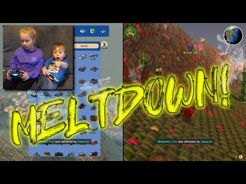 Ryder Has A Meltdown Playing LEGO Worlds!