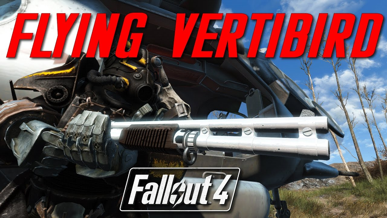 PRIVATE VERTIBIRD AND CUSTOMIZABLE WEAPONS - Fallout 4 Mod Review PC by  Crymtastic